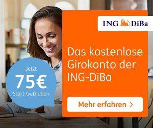 ING DiBa Kostenloses Girokonto Österreich