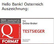 Hello Bank Auszeichnung