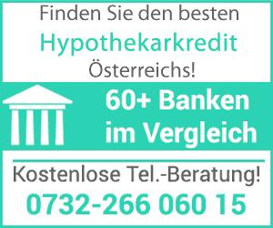 hypothekarkredit zinsen vergleich österreich