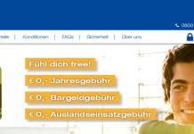 free - kostenlose kreditkarte von Mastercard für Österreich