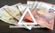 Magisches Dreieck der Geldanlage: Rendite, Sicherheit, Liquidität
