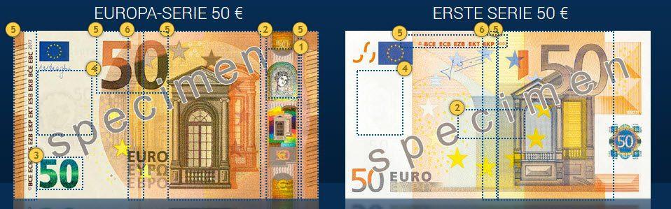 Neuer 50er Euro