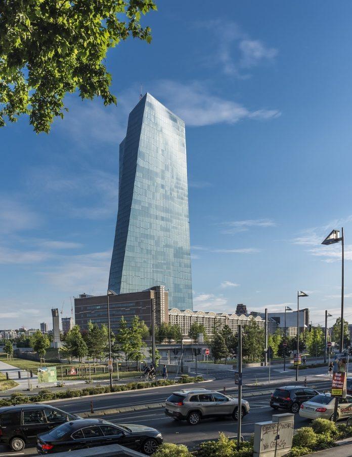 EZB Turm in Frankfurt