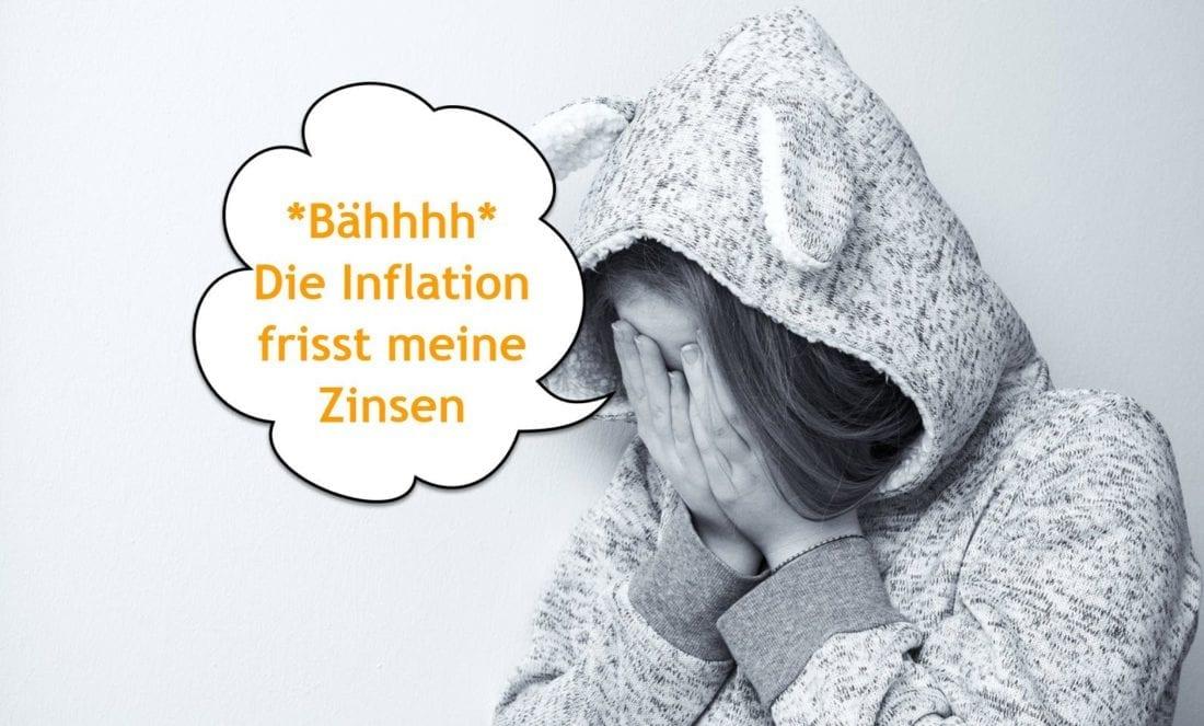 Inflation frisst zinsen der Geldanlage in Österreich auf