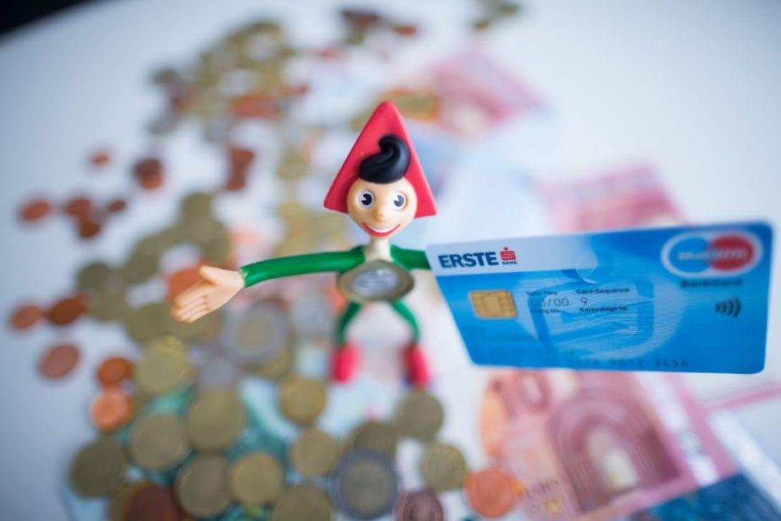Erste Bank Video-Identifizierung Girokonto