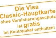 Gratis Visa Classic Kreditkarte