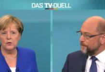 Bundestagswahl 2017: Merkel & Schulz im TV Duell