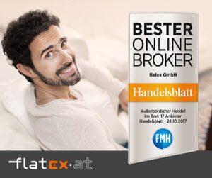 Flatex Online Wertpapier-Broker Depot Österreich