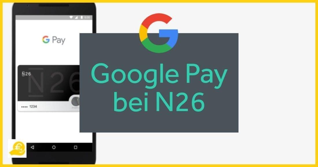 Google Pay bei N26