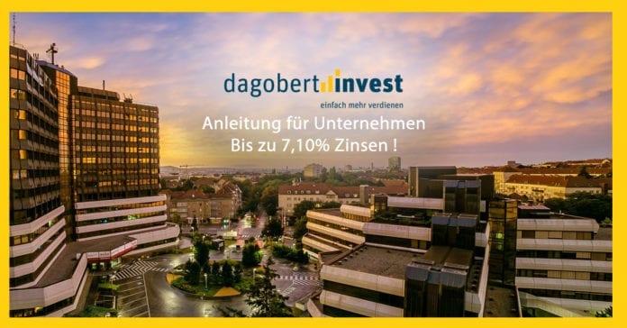 Als Firma / Unternehmen bei dagobertinvest registrieren & anmelden und Geld in Crodfunding investieren