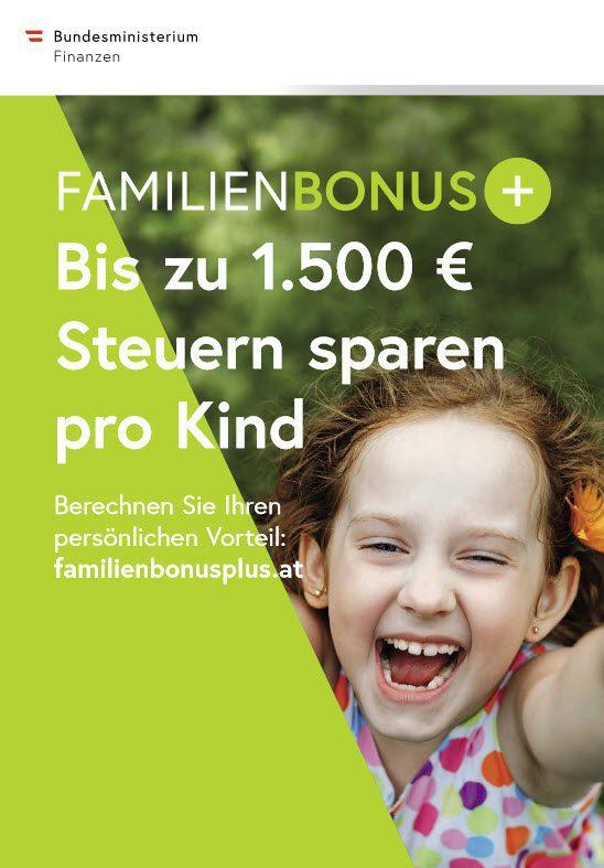Familienbonus plus 2019 Österreich