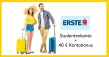 Studentenkonto und 40 Euro Kontobonus