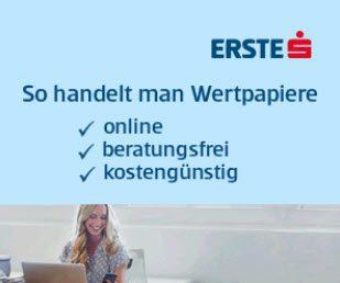 Erste Bank DirektDepot und George Wertpapier Depot Sparkasse Österreich
