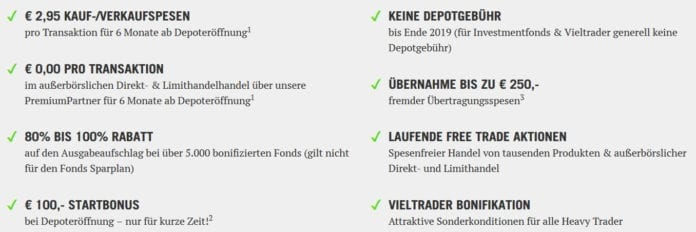 Vorteile des DADAT Depotkontos aus Österreich (Stand 29.5.2019)