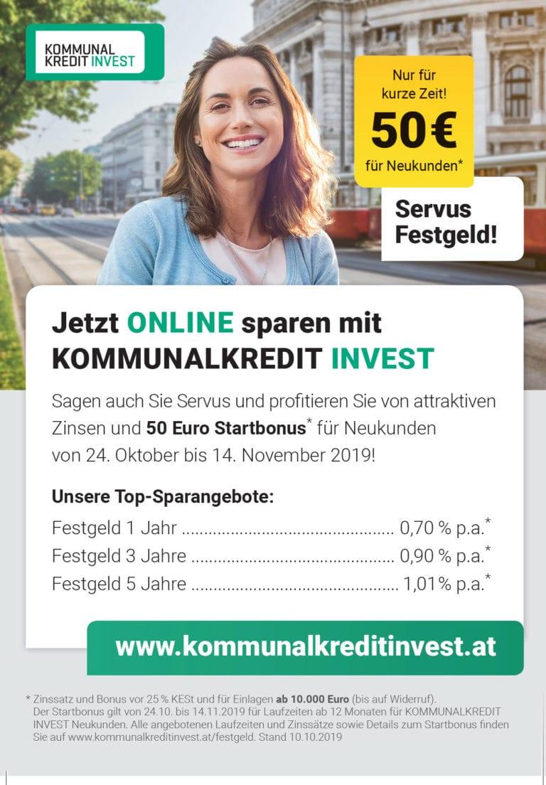 kommunalkredit-invest-servus-festgeld-aktion weltsparen 2019