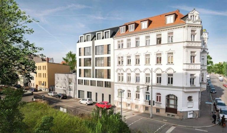 Crowdinvesting in eine Wohanlage in Leipzig über dagobertinvest