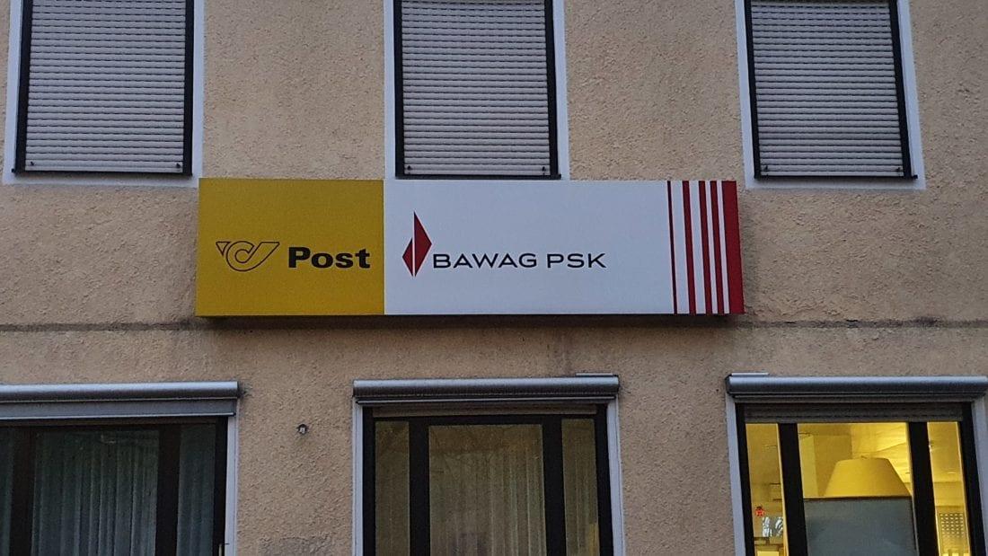 BAWAG PSK bei Post Filialen bald geschlossen