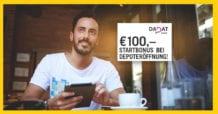 DADAT Wertpapierdepot Österreich - 100 Euro Startbonus März 2020
