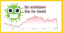 Geld vor Finanzkrise / Crash schützen in Zeiten von Corona Virus