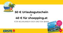 Erste Bank Gutschein Titelbild