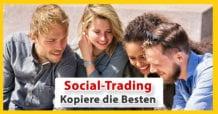 Social Trading (Copy-Trading) Anbieter für Österreich - Plattformen im Vergleich. Aktien, ETFs, CFDs, Forex, Krypto, uvm. - Was ist Social Trading? Vorteile, Chancen, Nachteile.