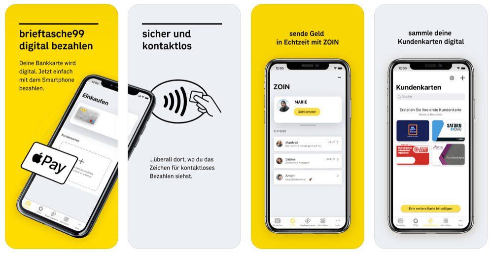 bank99 brieftasche99 App