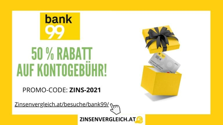 bank99 50% Rabatt auf Freunde Konto Mit Promocode