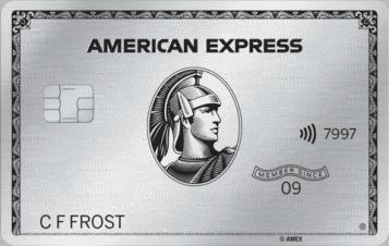 American Express Platinum Metall Kreditkarte Österreich