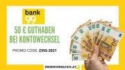 ZV bank99 50euro gutschrift