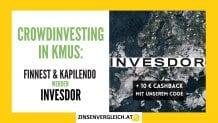 KMU Crowdinvesting Plattformen Kapilendo und Finnest fusionieren mit Invesdor