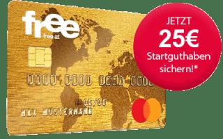 Free Mastercard Österreich 25 Euro Guthaben Gutschein
